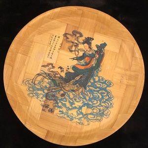 Bamboo Plate Decor